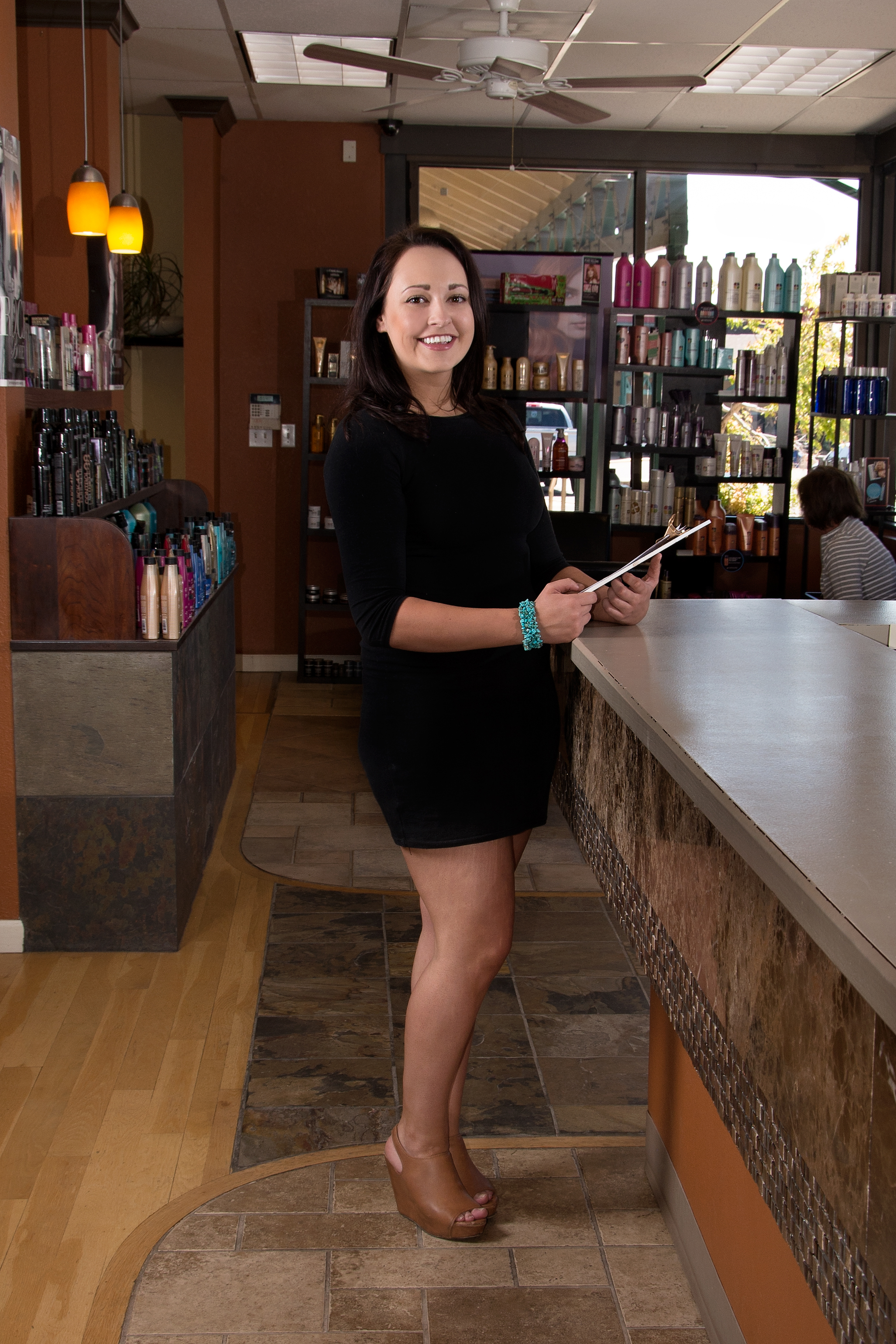 Samantha Hunts - Receptionist at Salon Nevaeh in Littleton, CO